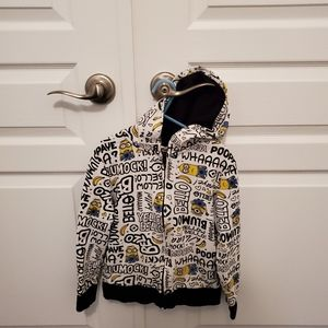 Boys H and M Zip up hoodie - READ Description